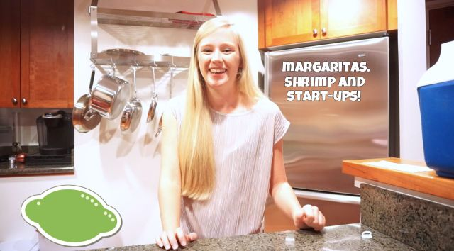 teach me whatever about shrimp, margaritas and start-ups